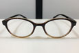 READING GLASSES TYPE-1 BROWN CLEAR