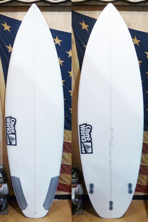 1610 ACTIVE DIRTY �V SURFBOARD
