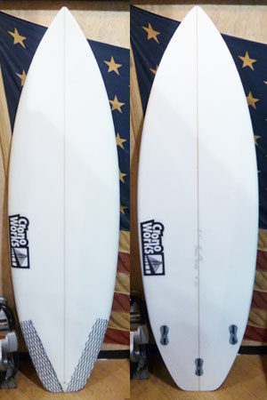 1611 NEW ACTIVE DIRTY SURFBOARD